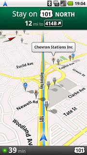 Officiel : Google Maps Navigation disponible sous Android 1.6