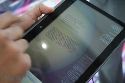 CES 2010 : Notion Ink Adam, une tablette avec du Pixel Qi et du NVIDIA Tegra 2