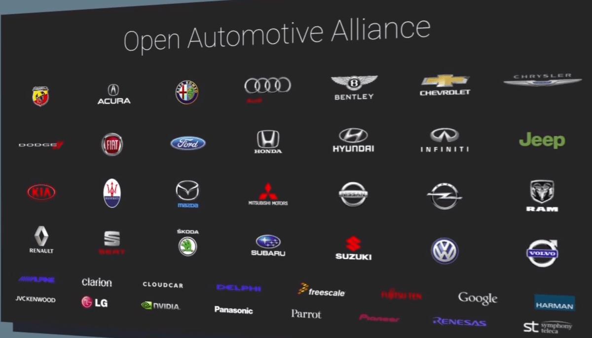 LG rejoint l'Open Automotive Alliance et devient partenaire d'Android Auto