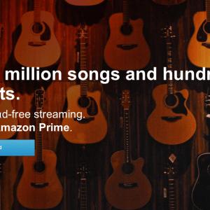 Amazon Prime : le streaming musical est intégré à l'offre de livraison du commerçant