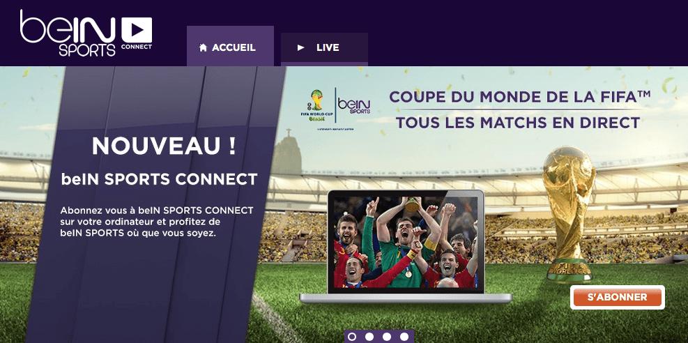 L'abonnement BeIN Sports Connect à 12 euros par mois et sans engagement