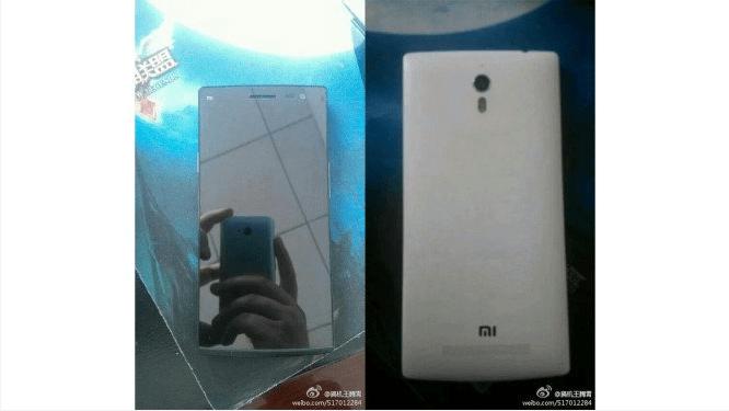 Xiaomi Mi4 : une première photo et des finitions en métal ?
