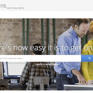 Google Domains, un service d'enregistrement de noms de domaine en beta