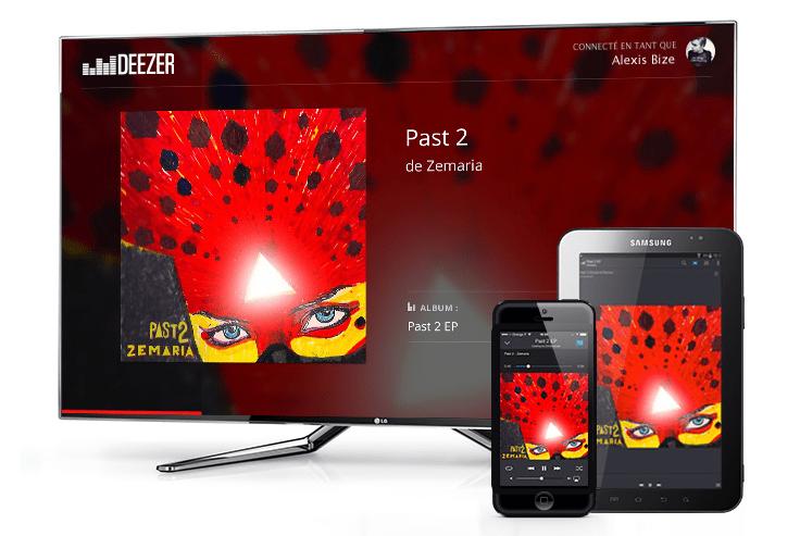 Deezer est désormais compatible avec le Chromecast