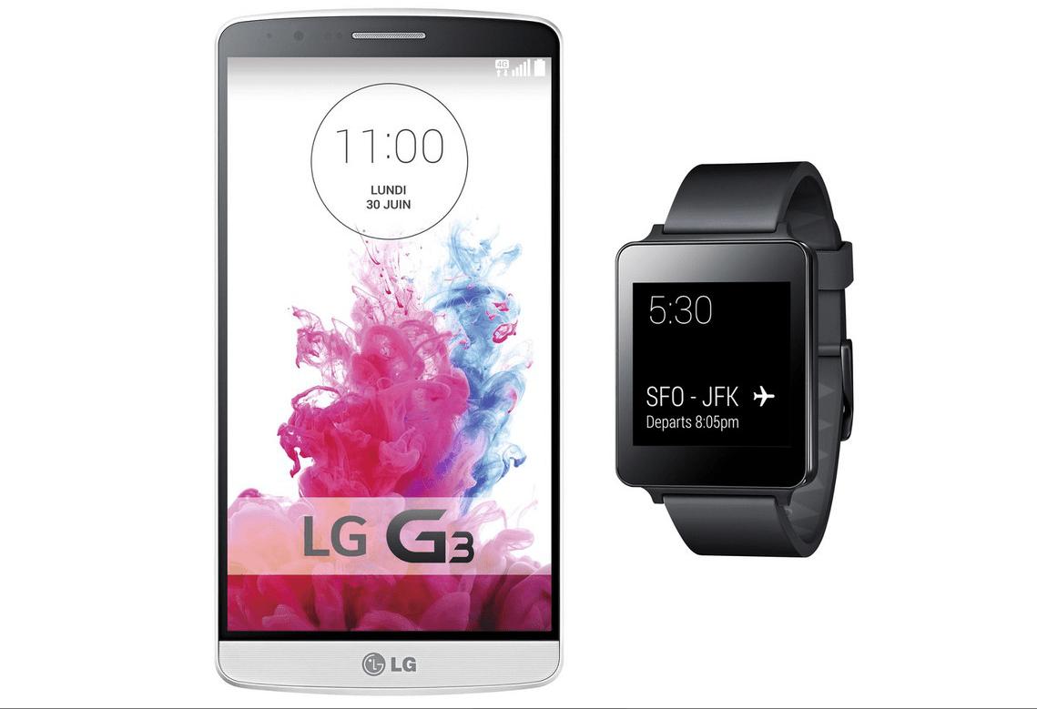Bon plan : la G Watch offerte avec les précommandes du LG G3