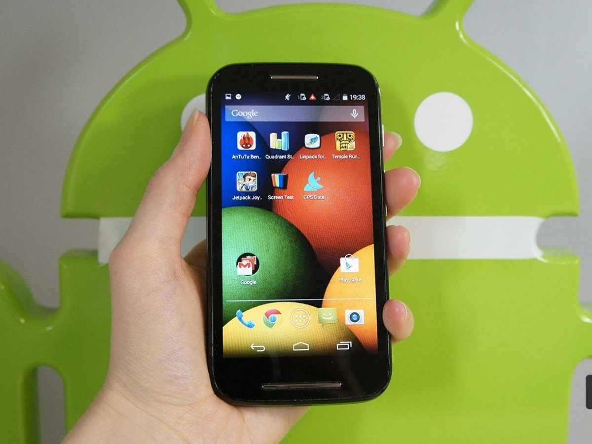 Test du Motorola Moto E, petit mais costaud