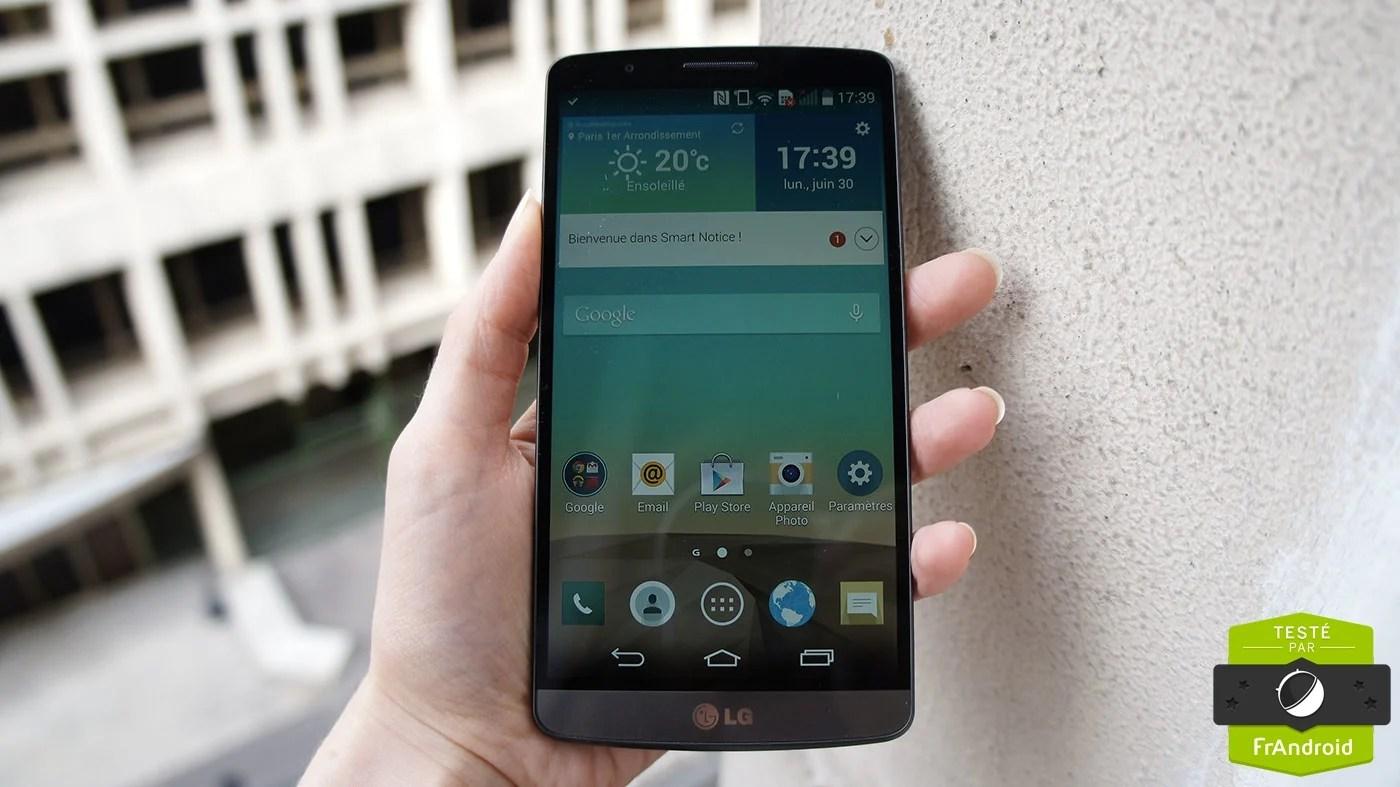 Test du LG G3, quand le Coréen transforme l'essai