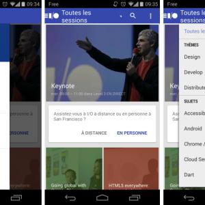 Google I/O 2014 : l'app officielle est disponible sur le Play Store