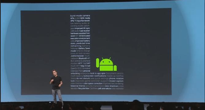 Android L : Téléchargez les fonds d'écran et le clavier