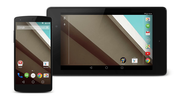 Google : une preview des sources d'Android L disponibles pour Nexus 4, 5, 7 et 10