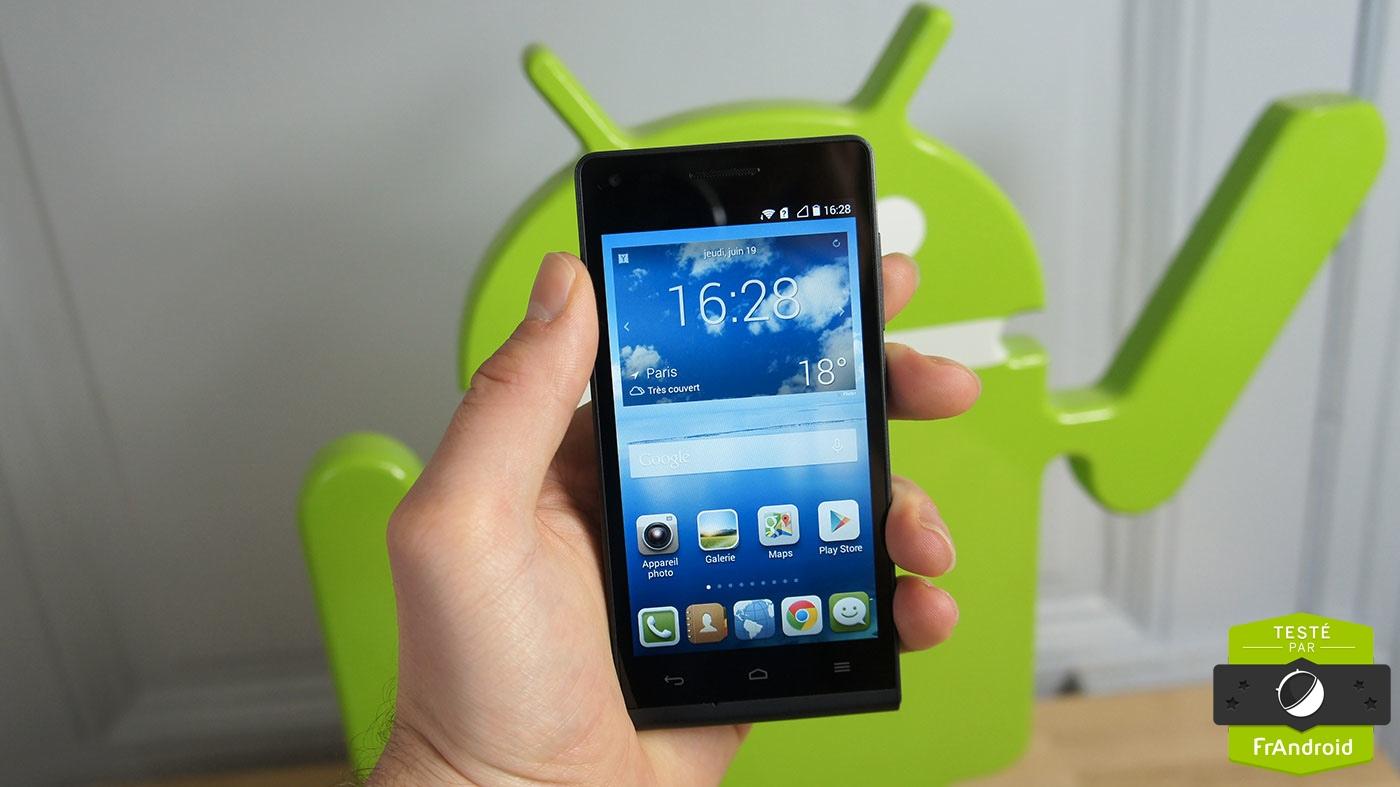 Test de l'Ultym 5 ou Huawei Ascend G6, un smartphone 4G équilibré