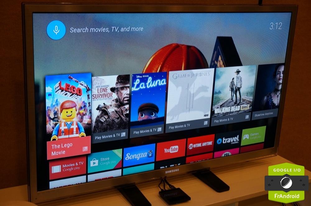 Android TV, première prise en main de la résurrection de Google TV