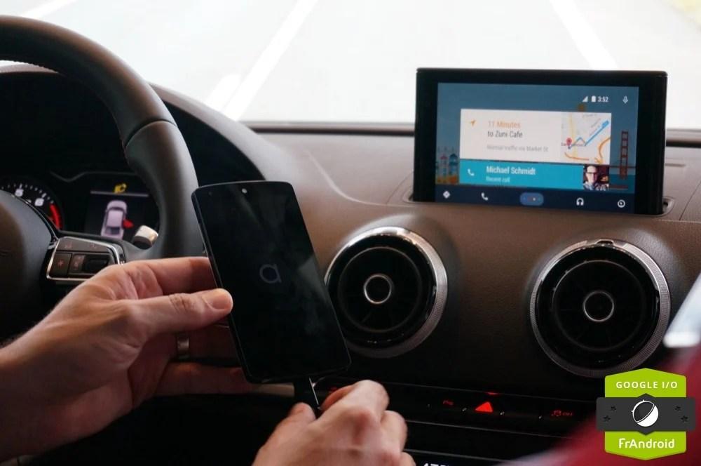 Découverte de Android Auto, la réponse à Car Play
