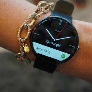 Prise en main de la Motorola Moto 360 sous Android Wear