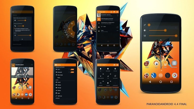 La version finale de Paranoid Android 4.4 est disponible