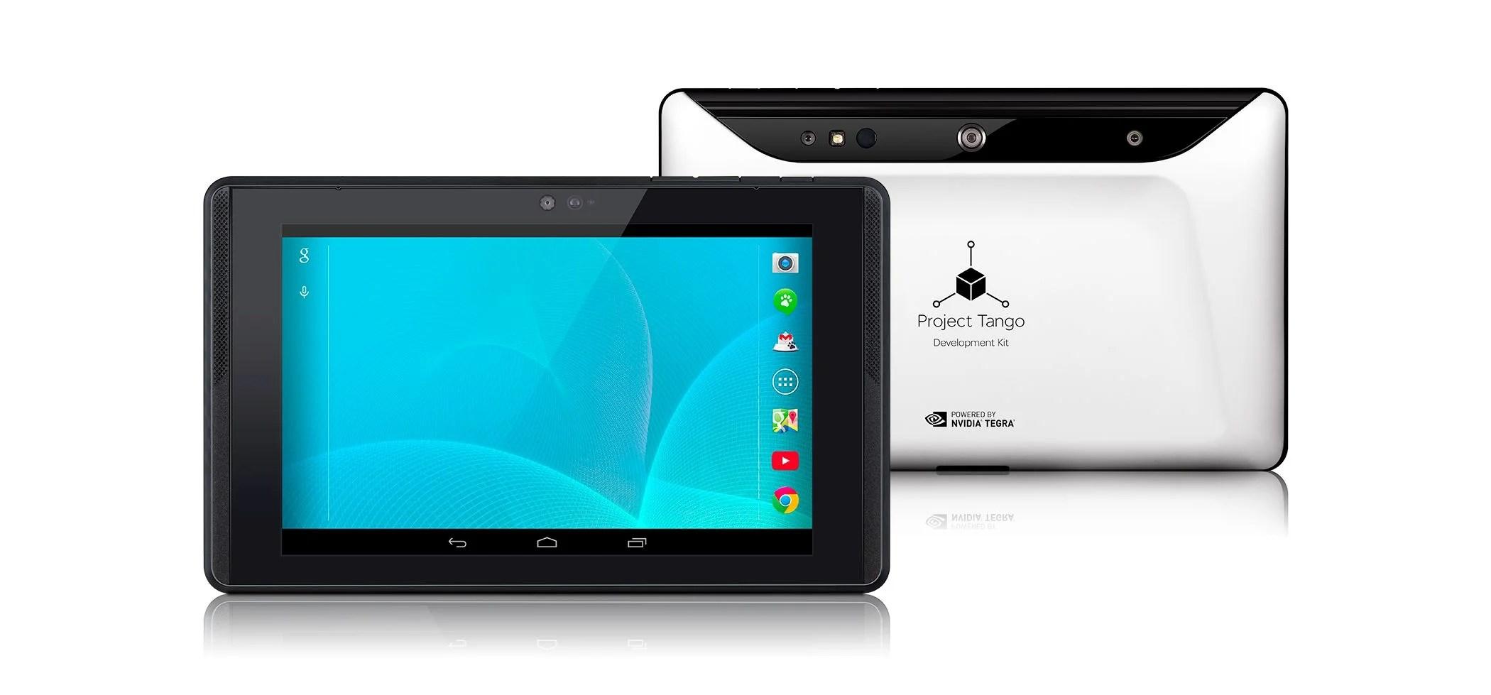 Google dévoile une tablette Tango avec un processeur Tegra K1 à 1024 dollars
