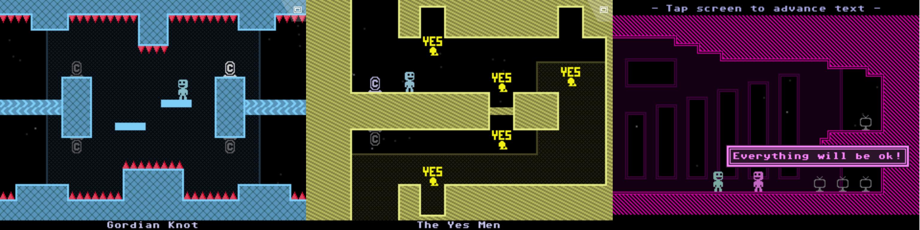 VVVVVV : Un jeu de plateforme hardcore par le créateur de Super Hexagon
