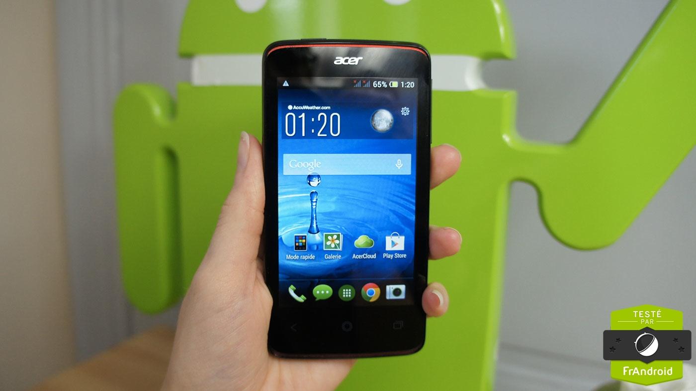 Test du Liquid Z4, un smartphone à 100 euros de plus