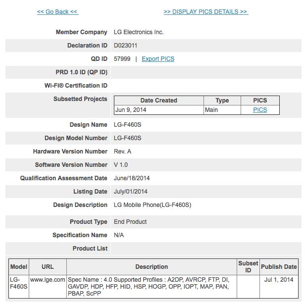 Le LG G3 Prime et son Snapdragon 805 se confirment un peu plus