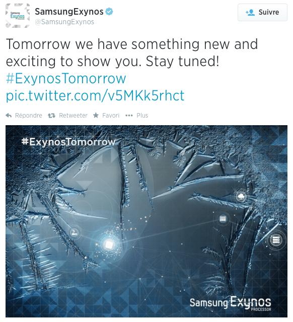 Samsung va présenter un nouveau processeur Exynos : celui du Galaxy Note 4 ?