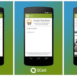 Qcast Music, la playlist musicale collaborative sur votre Chromecast