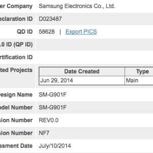 Une certification Bluetooth pour le Samsung Galaxy F ?