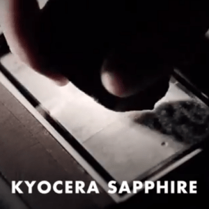 Les écran revêtus de verre saphir se dirigent vers Android avec Kyocera