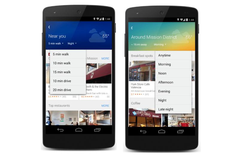 Google Maps s'est enrichi d'une fonction «explorer les environs»