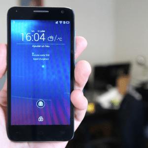 Test de l'Alcatel One Touch Idol 2 Mini S, juste un changement de taille