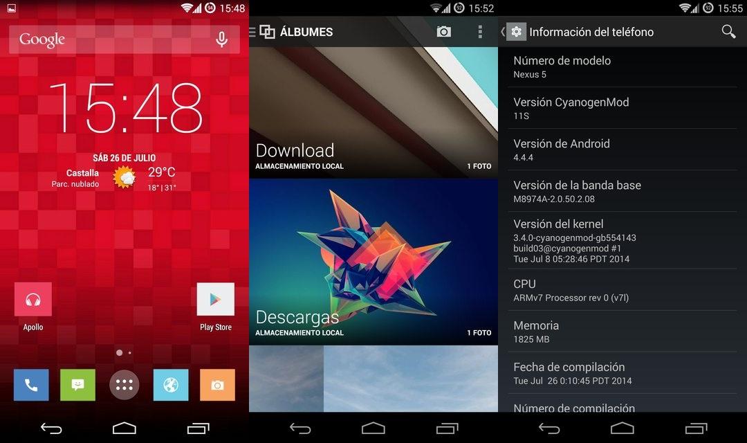 CyanogenMod 11S est disponible pour le Nexus 5