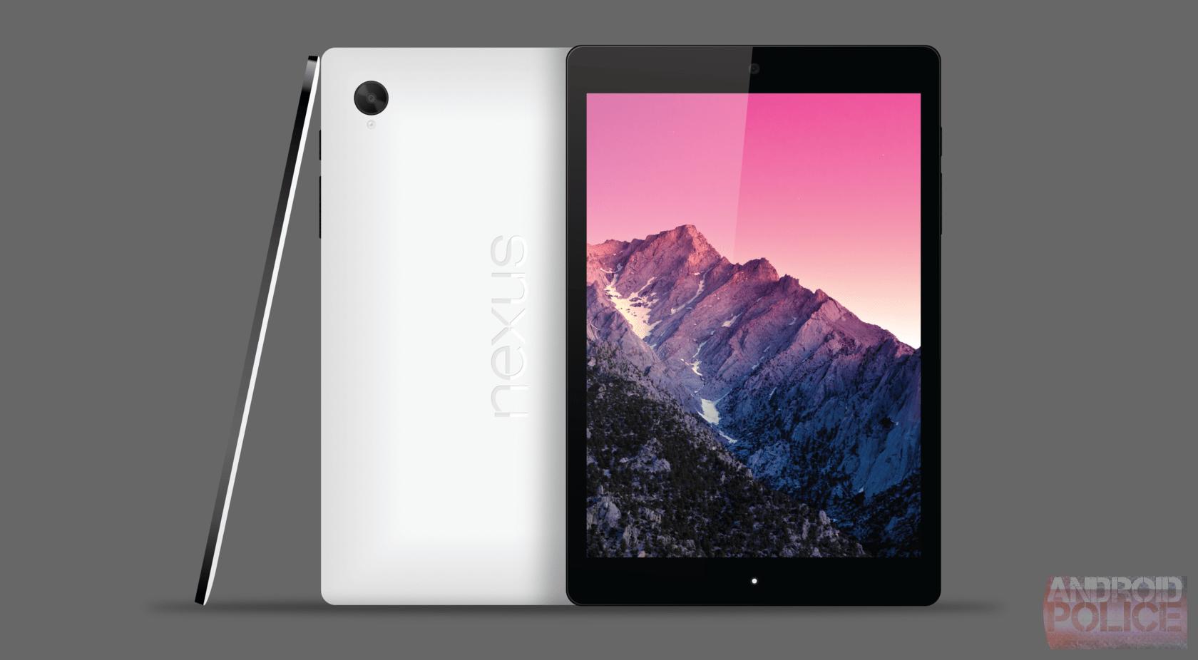 Nexus 9 : une première image de la coque… en plastique ?