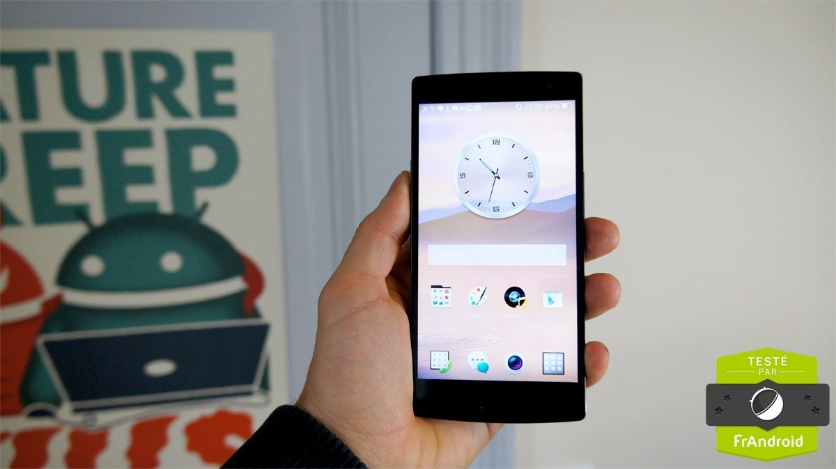 Test de l'Oppo Find 7, l'écran QHD abordable