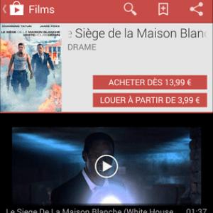 Comment acheter ou louer des films sur le Google Play ?
