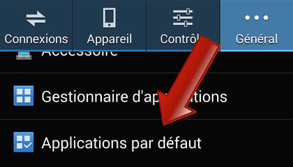 Comment définir les applications par défaut sur Android ?