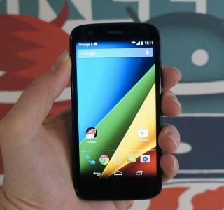 Test du Moto G 4G, un entrée de gamme toujours d'actualité