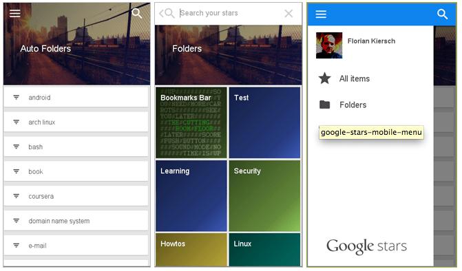 Google Stars : la liste de lecture intelligente se précise