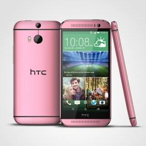 Le HTC One M8 se décline en rose bonbon pour la rentrée