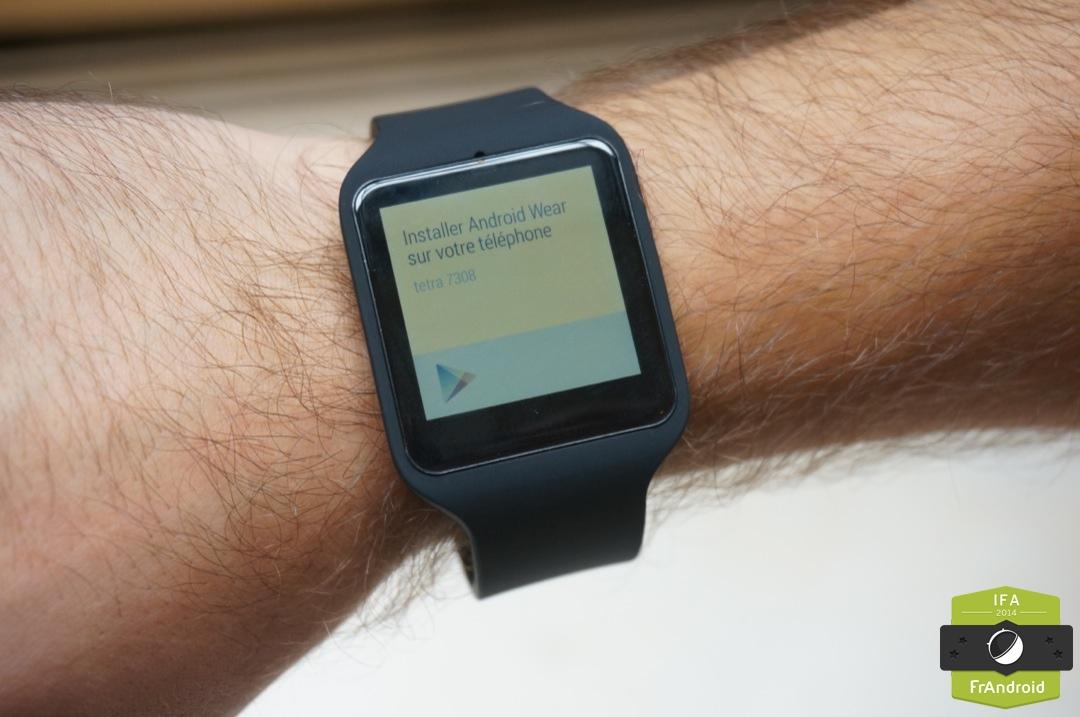 Prise en main de la Sony SmartWatch 3, de l'Android Wear autonome