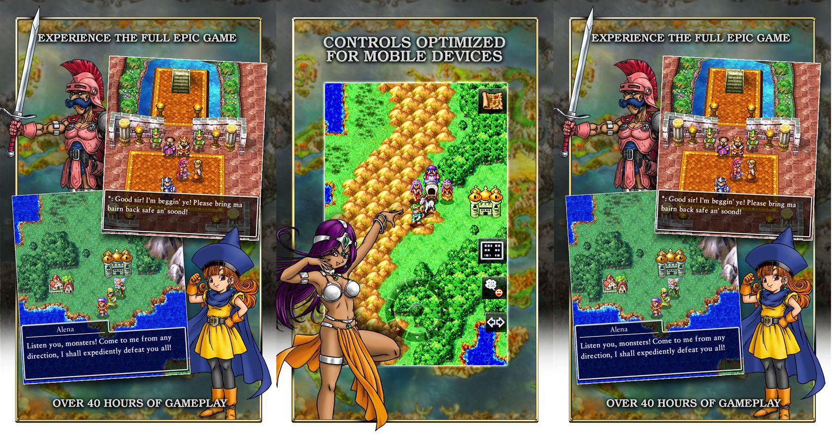 Dragon Quest IV est disponible sur le Play Store