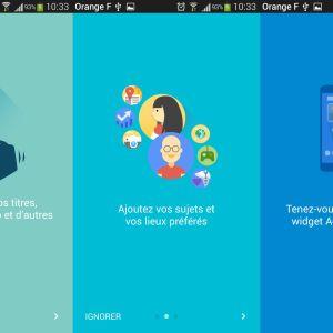 Google Actualités et Météo passe enfin à la version 2.0