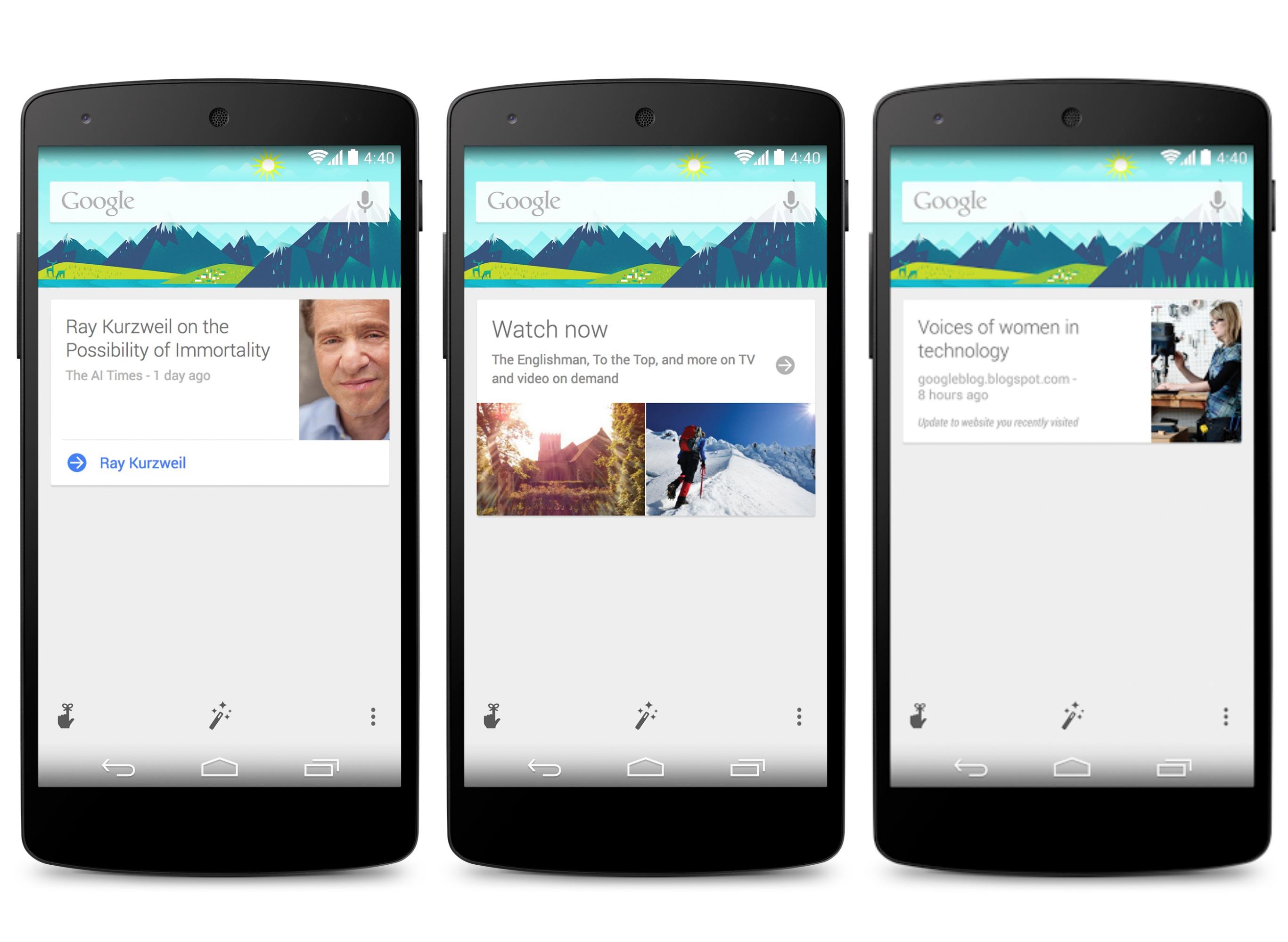 Google Now : le multi-langage est enfin là !