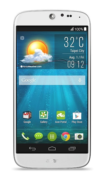 Acer Liquid Jade et Liquid Leap, le duo design arrive en septembre
