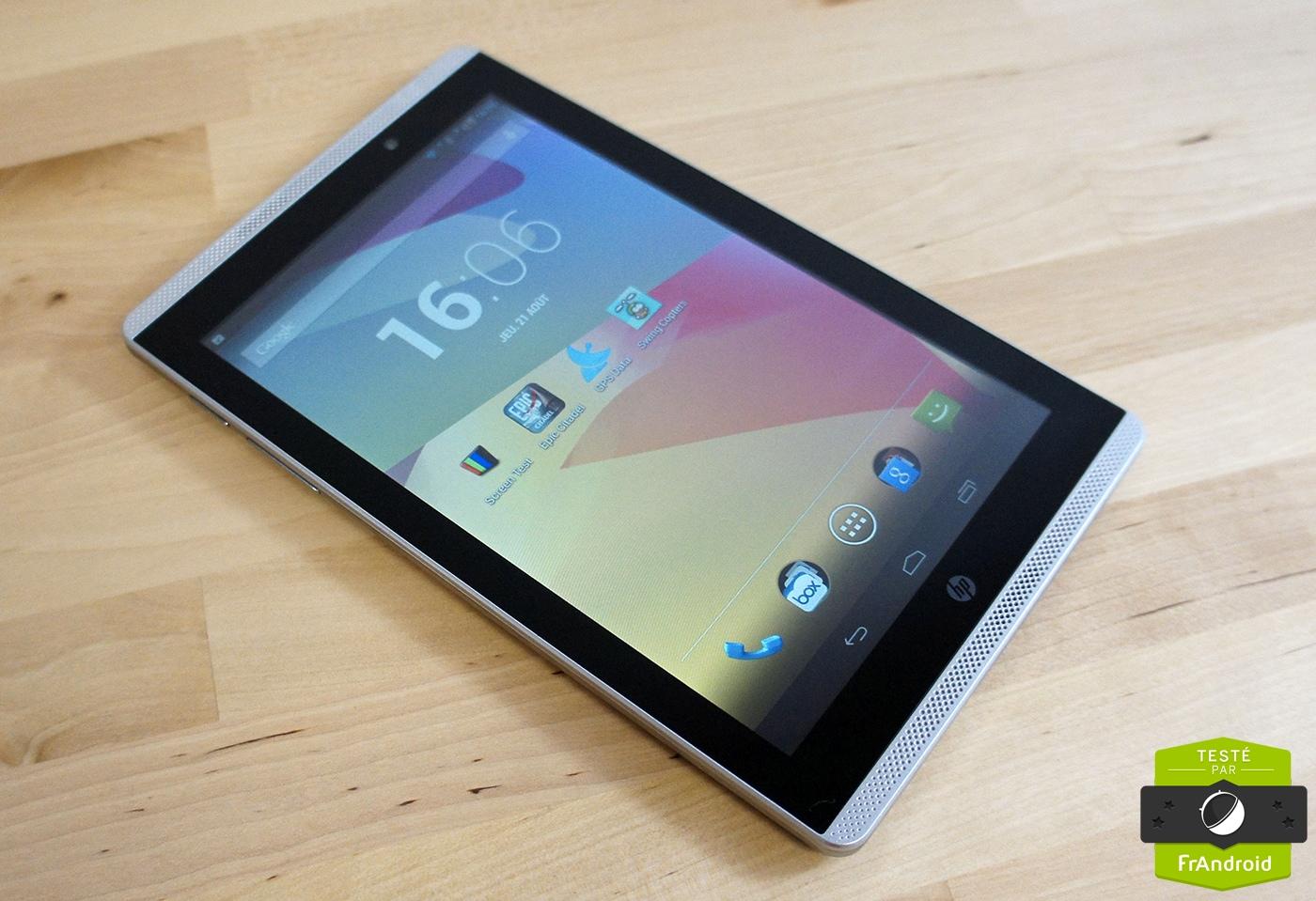 Test de la HP Slate 7 VoiceTab, une tablette-téléphone de 7 pouces