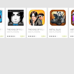 Bon plan : tous les jeux Android de SNK à moins de 90 centimes