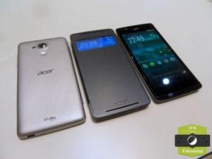 Prise en main du Acer Liquid Z500