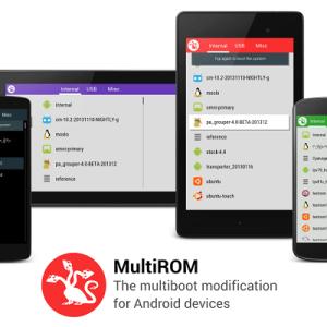 MultiROM est maintenant disponible sur le Sony Xperia Z