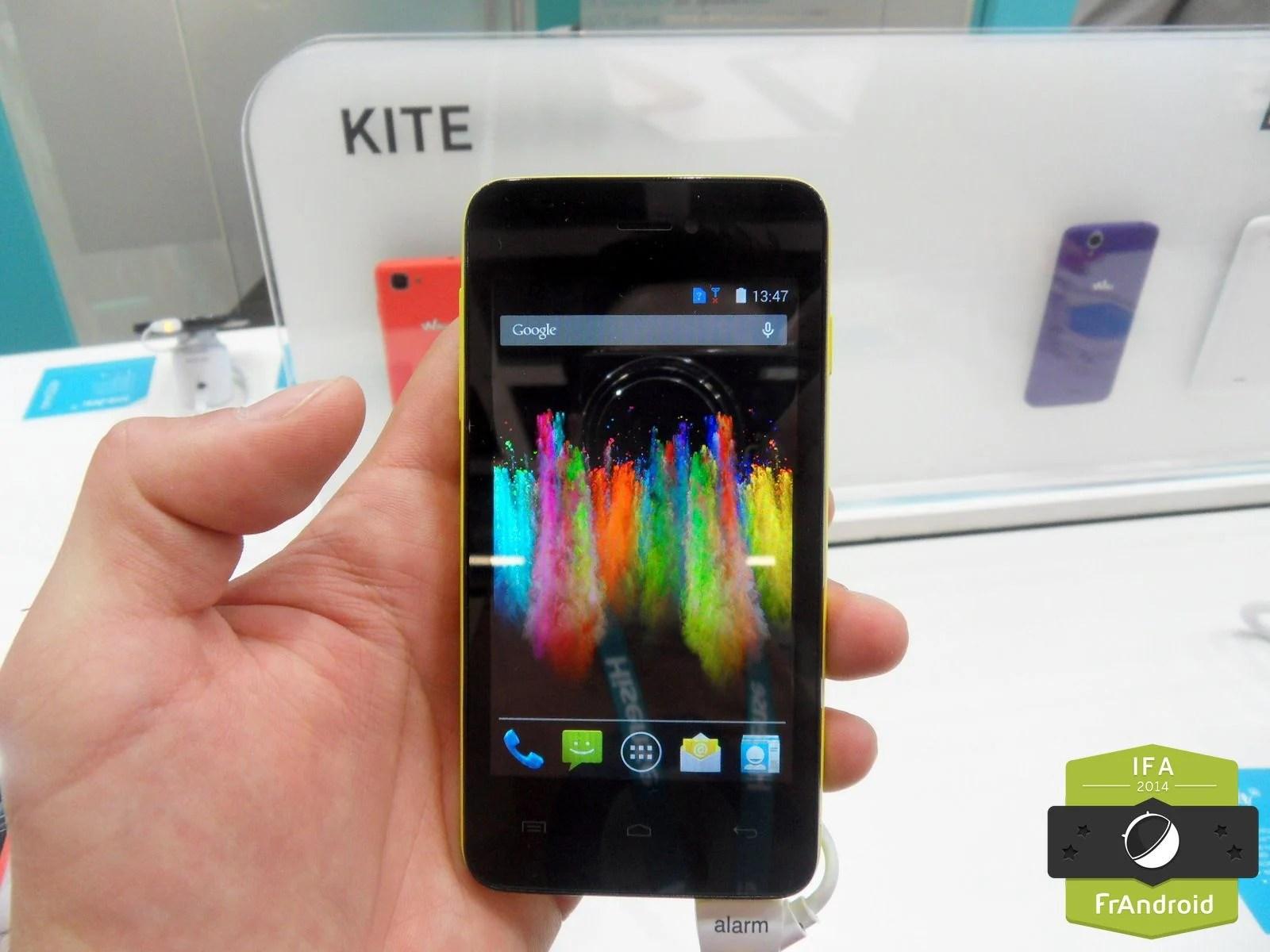 Prise en main du Wiko Kite : la 4G à moins de 100 euros