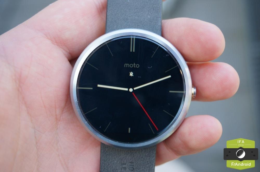 Motorola Moto 360 : nos impressions, son prix et sa date de sortie