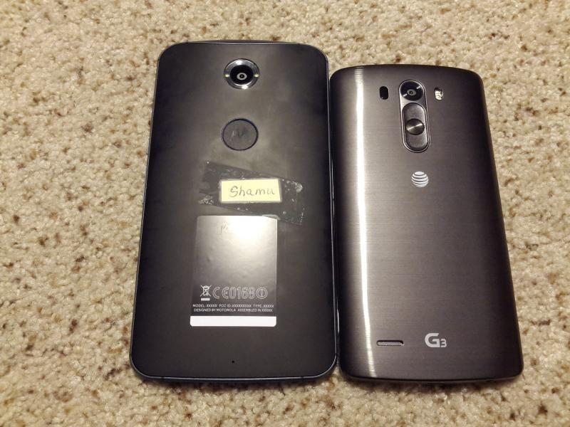 Nexus 6 : une première image fuitée de Shamu ?