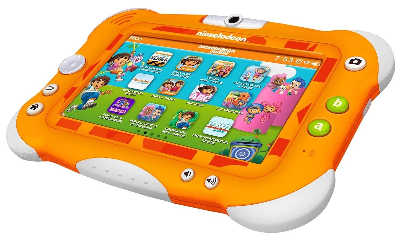 Nickelodeon lance sa tablette spécialement destinée aux enfants